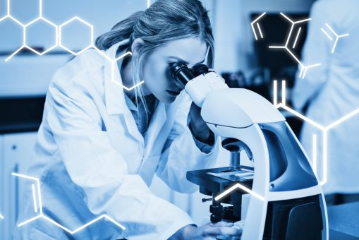 Wimpernserum Untersuchung im Labor